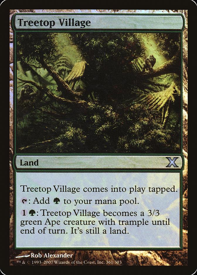 Treetop Village [10E]