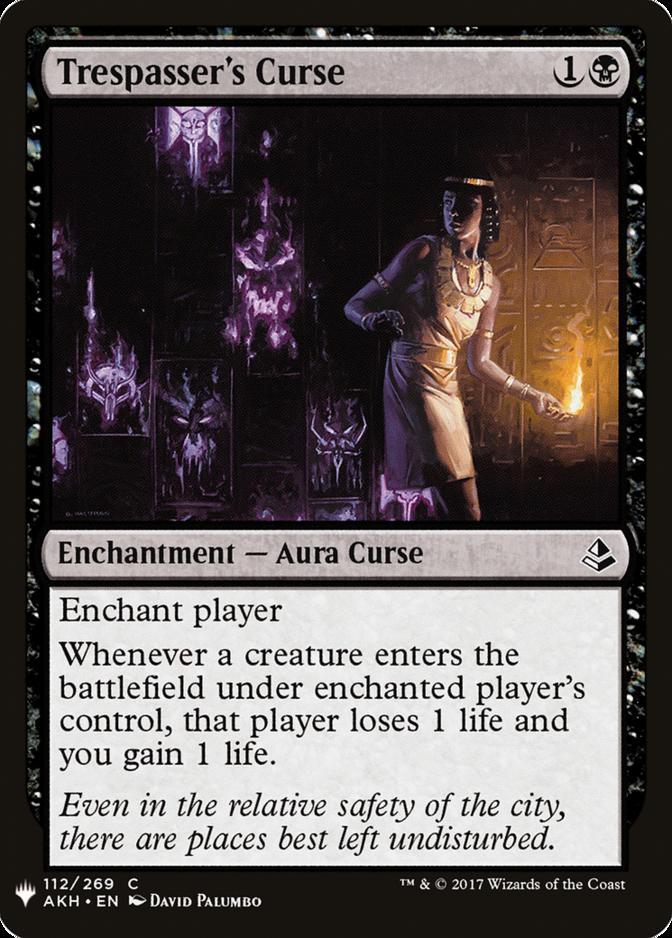 Trespasser's Curse [MB1]