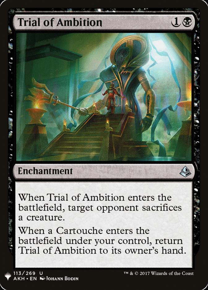 Trial of Ambition [MB1]