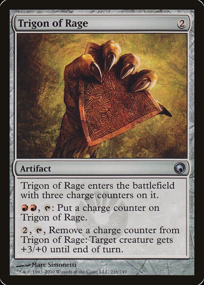 Trigon of Rage [SOM] (F)