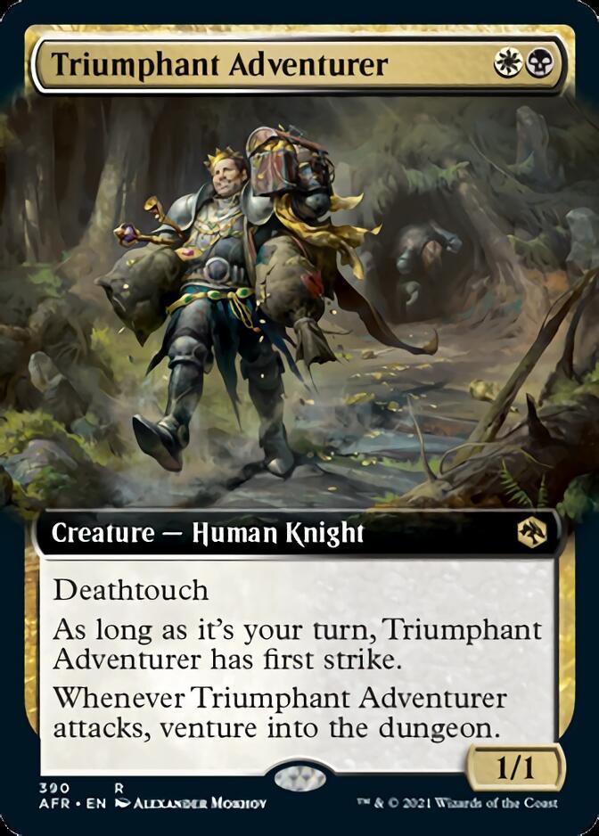 Triumphant Adventurer <extended> [AFR]