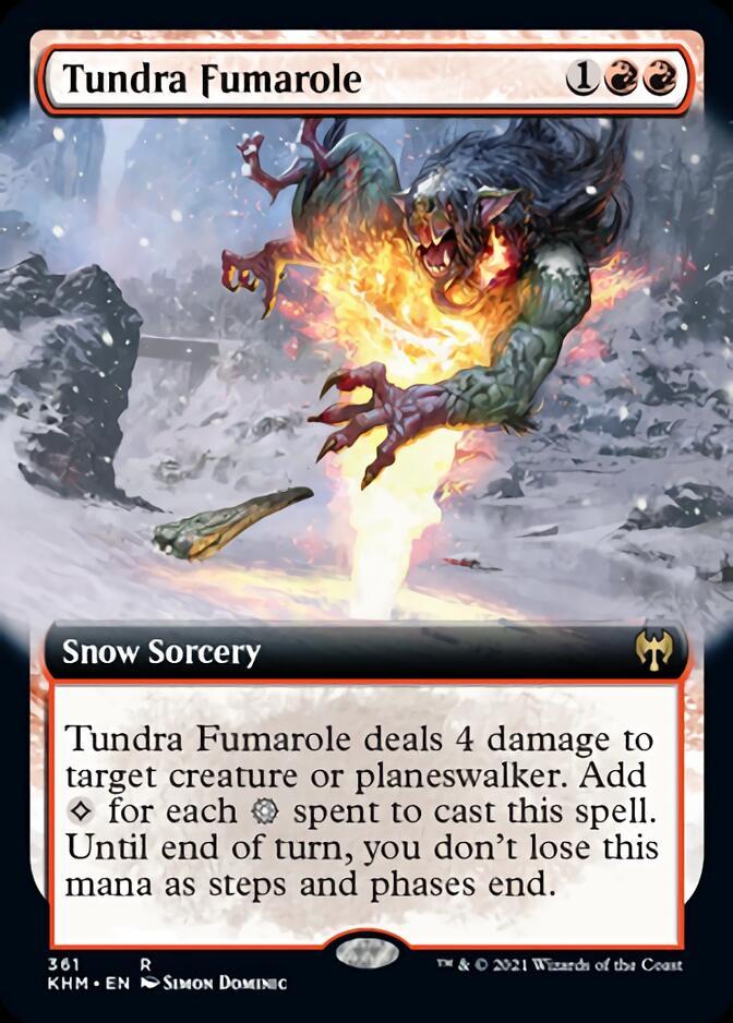 Tundra Fumarole <extended> [KHM]