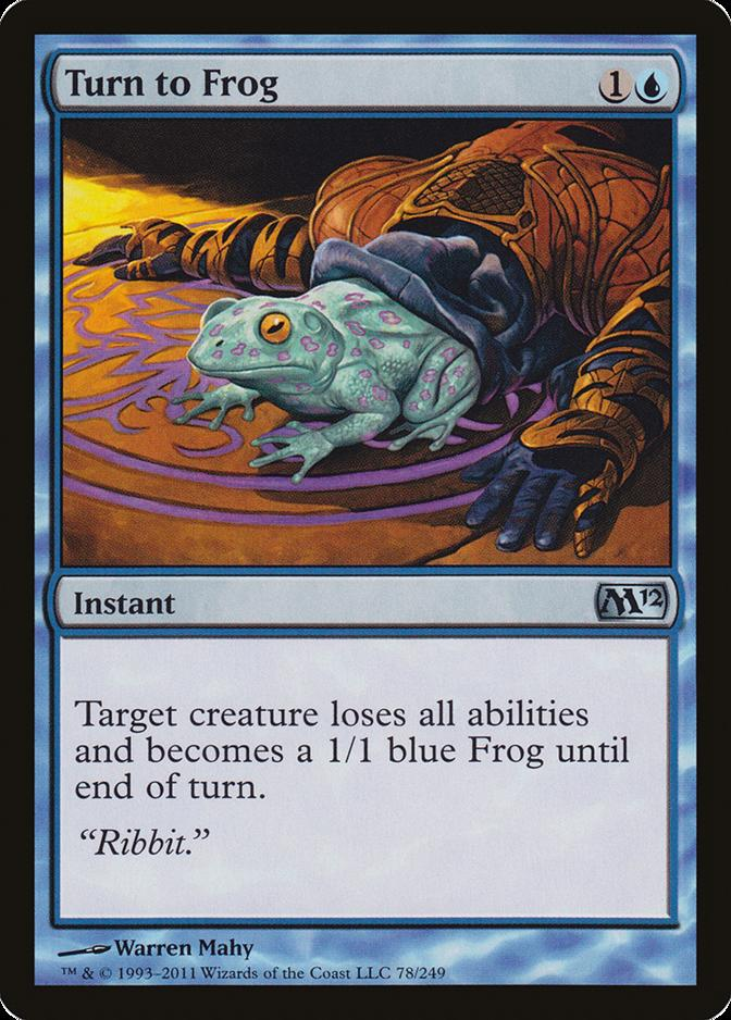 Turn to Frog [M12]