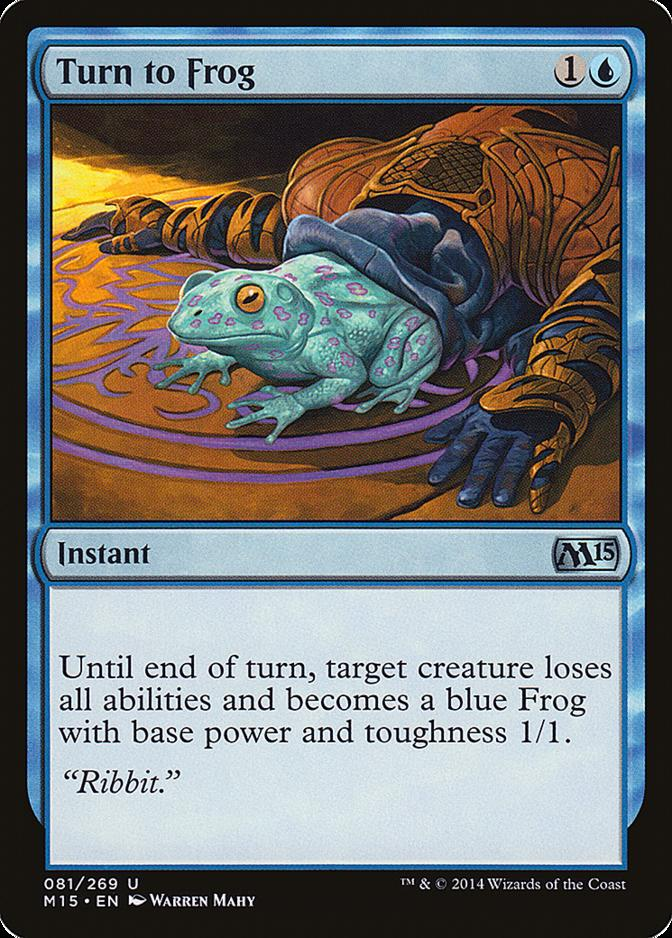 Turn to Frog [M15]