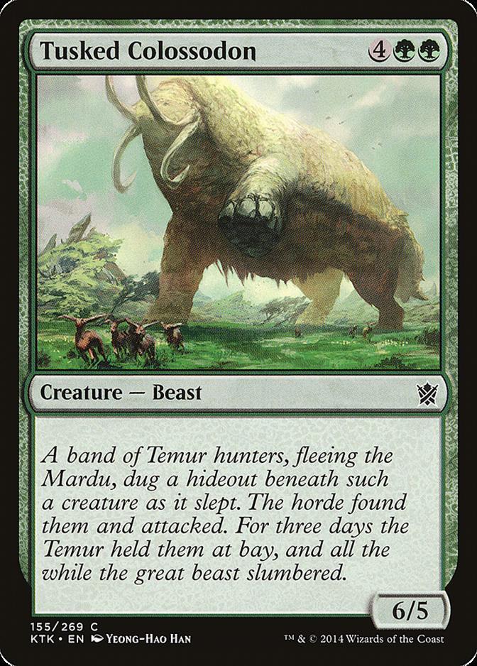 Tusked Colossodon [KTK]