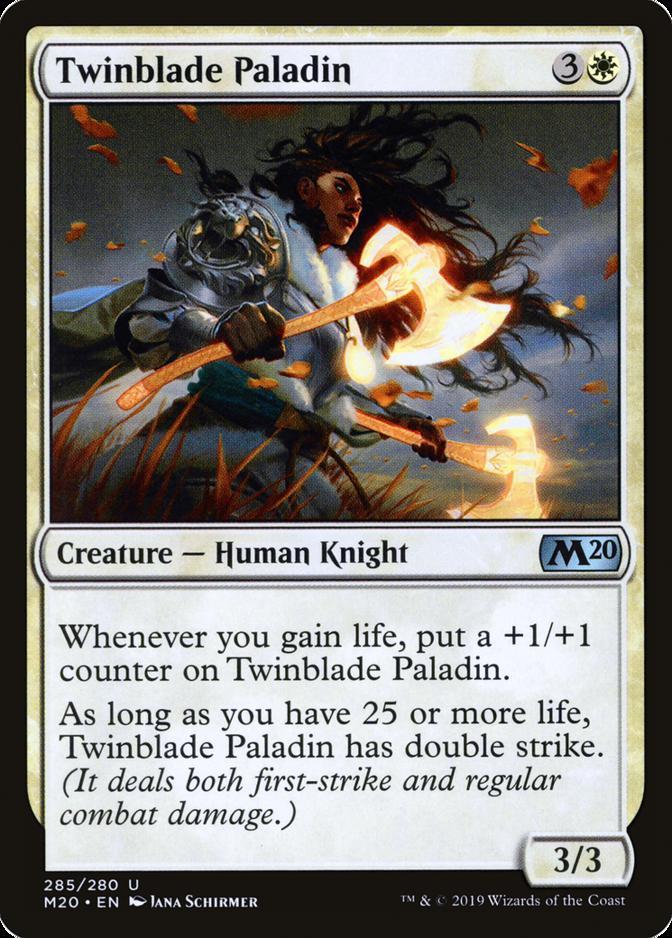 Twinblade Paladin [M20]