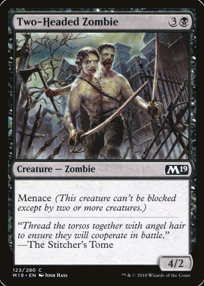Two-Headed Zombie [M19]
