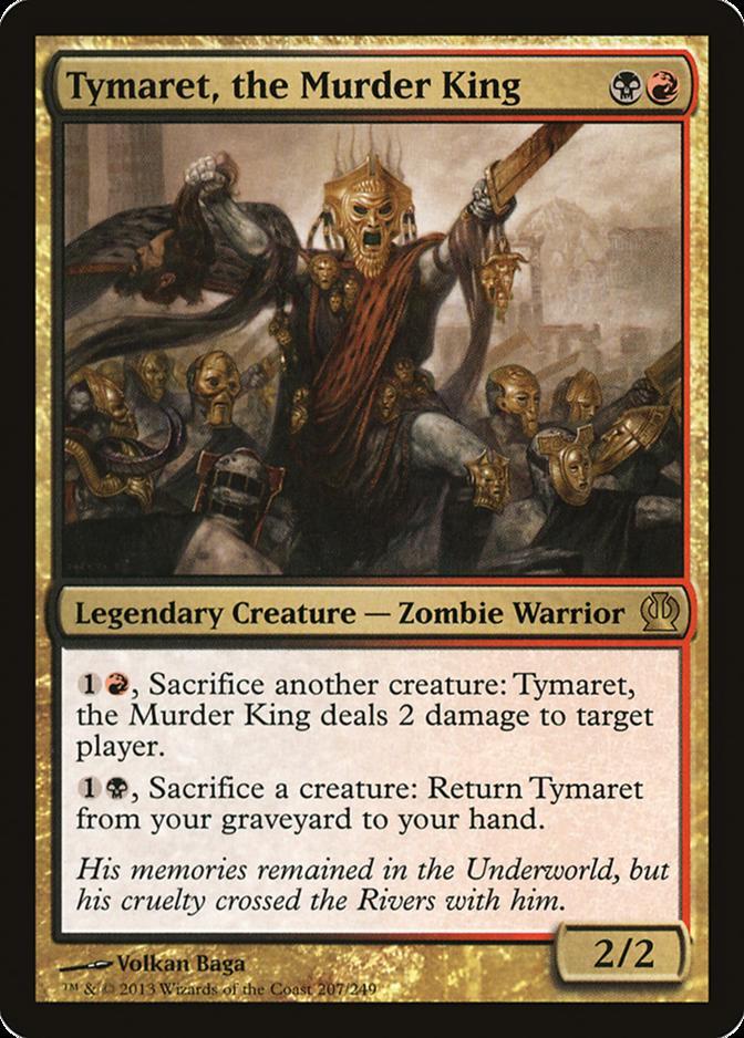 Tymaret, the Murder King [THS]