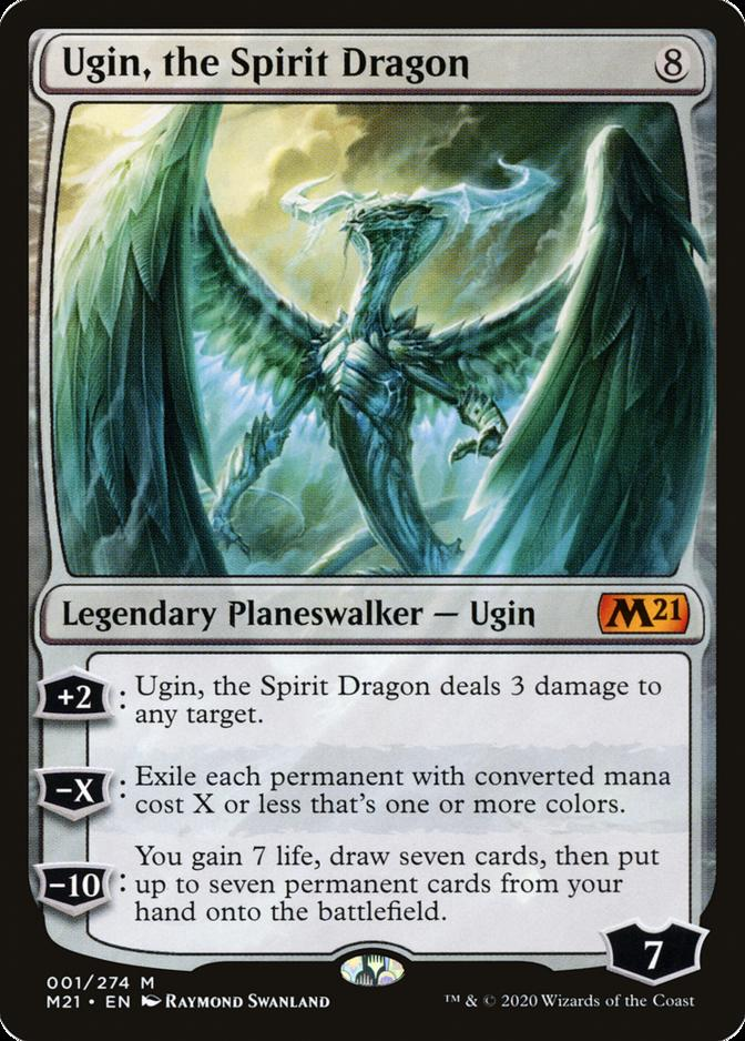 Ugin, the Spirit Dragon [M21]