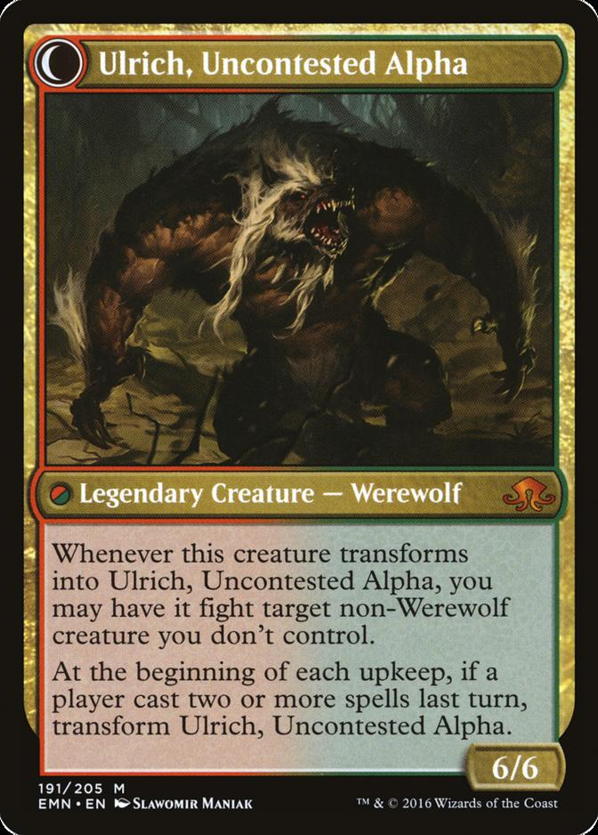 Ulrich, Uncontested Alpha [EMN]