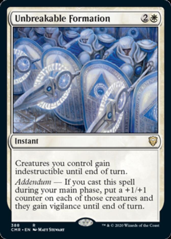 Unbreakable Formation <precon> [CMR]
