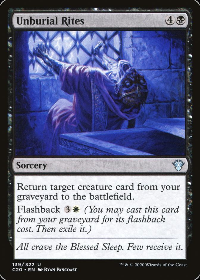 Unburial Rites [C20]