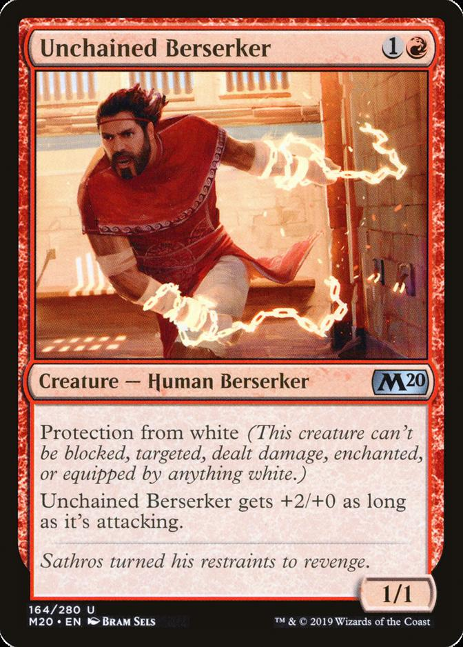 Unchained Berserker [M20]