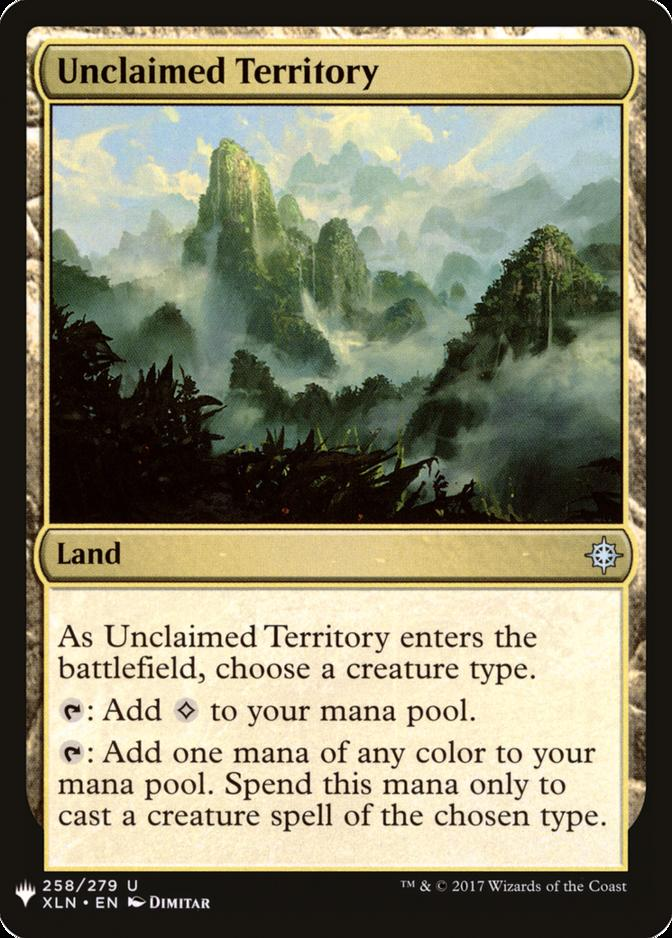 Unclaimed Territory [MB1]
