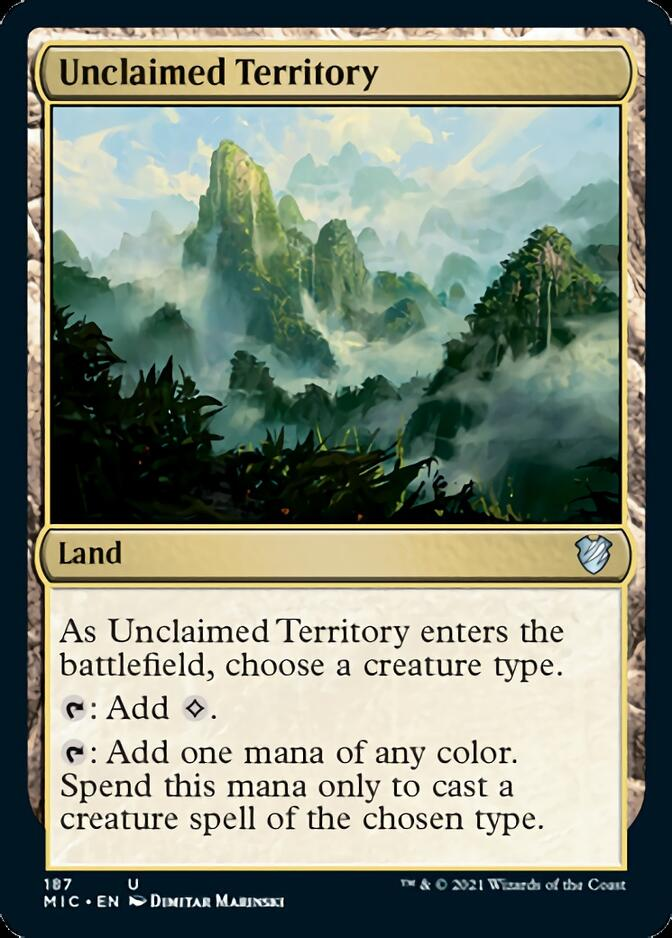 Unclaimed Territory [MIC]