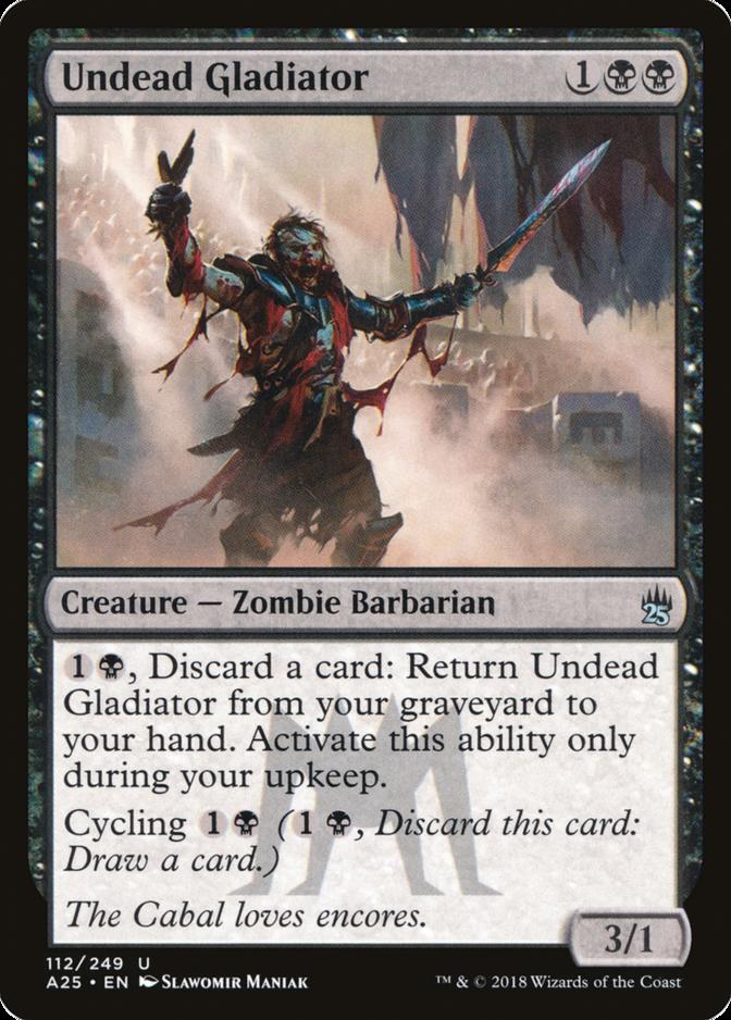 Undead Gladiator [A25]