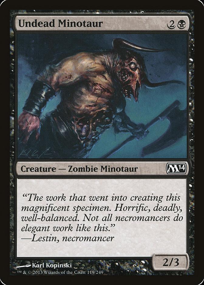 Undead Minotaur [M14]