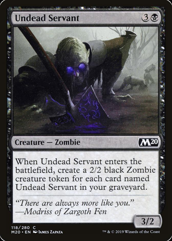 Undead Servant [M20]