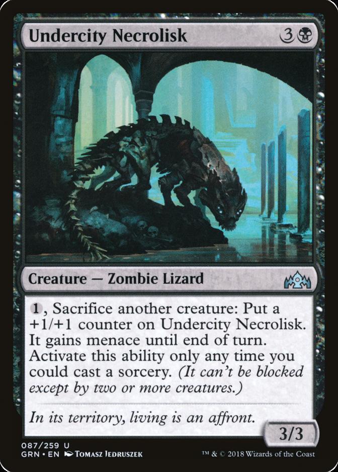 Undercity Necrolisk [GRN]