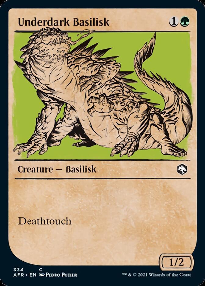 Underdark Basilisk <showcase> [AFR]