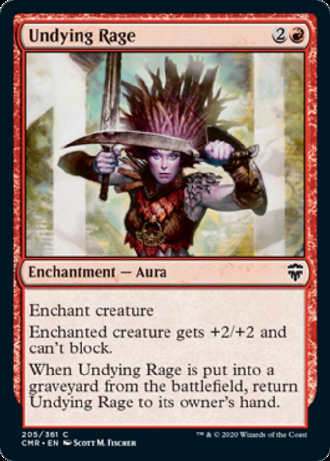 Undying Rage [CMR]