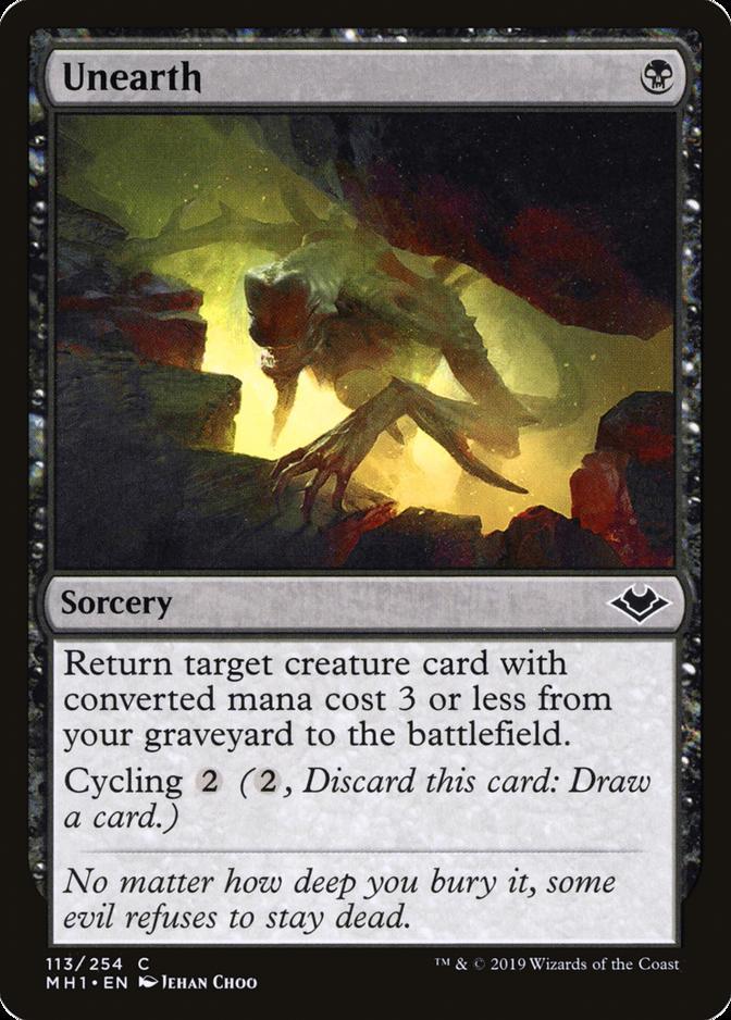 Unearth [MH1] (F)