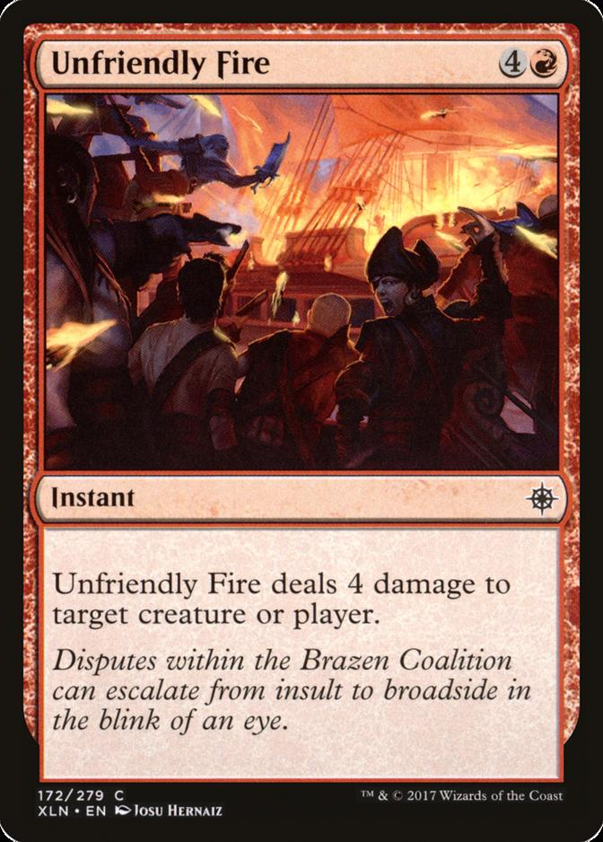 Unfriendly Fire [XLN]