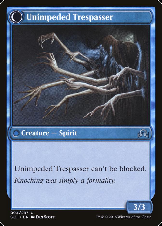 Unimpeded Trespasser [SOI]