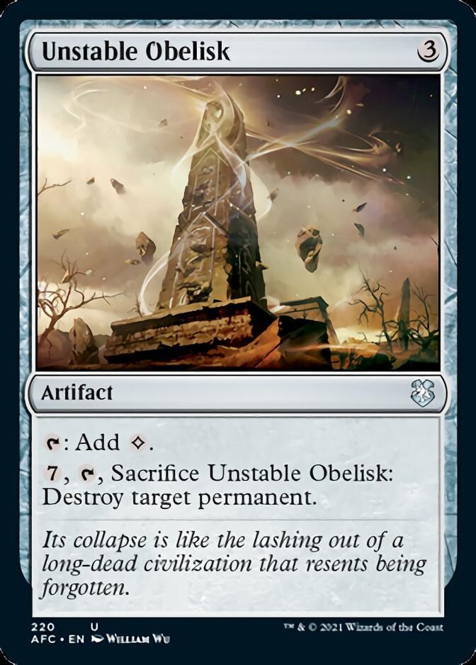 Unstable Obelisk [AFC]