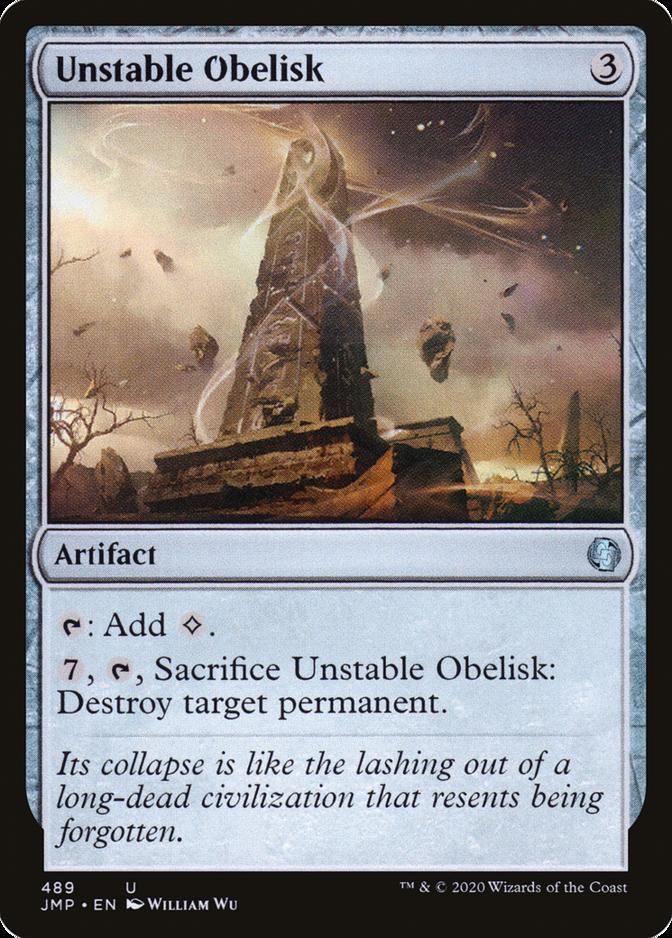 Unstable Obelisk [JMP]