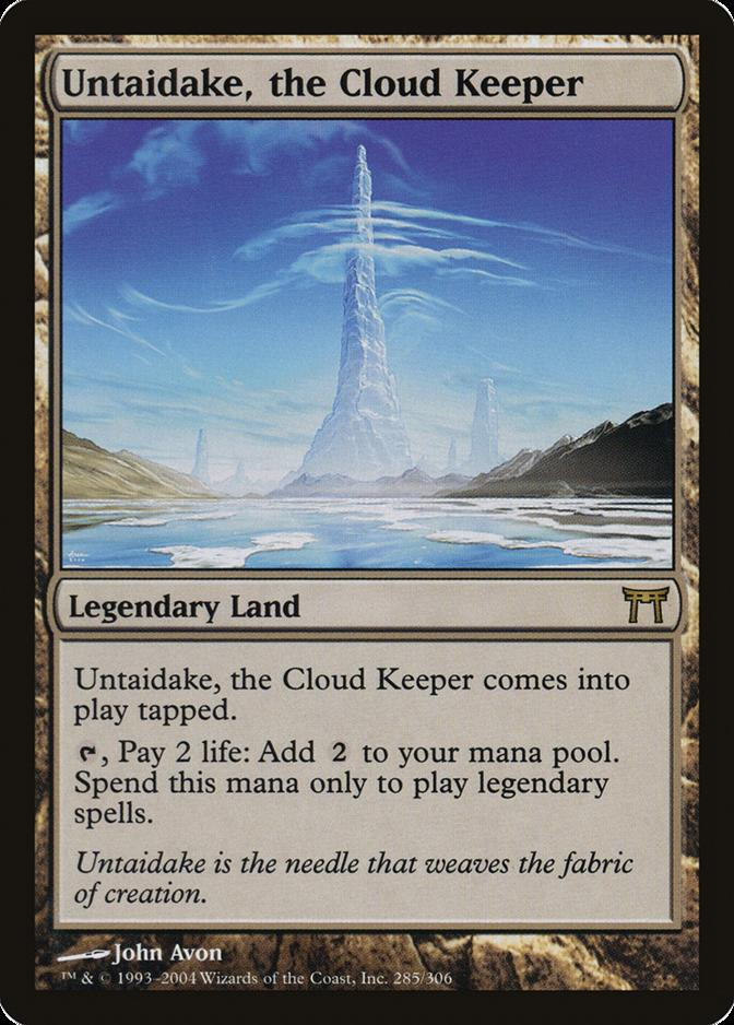 Untaidake, the Cloud Keeper [CHK]
