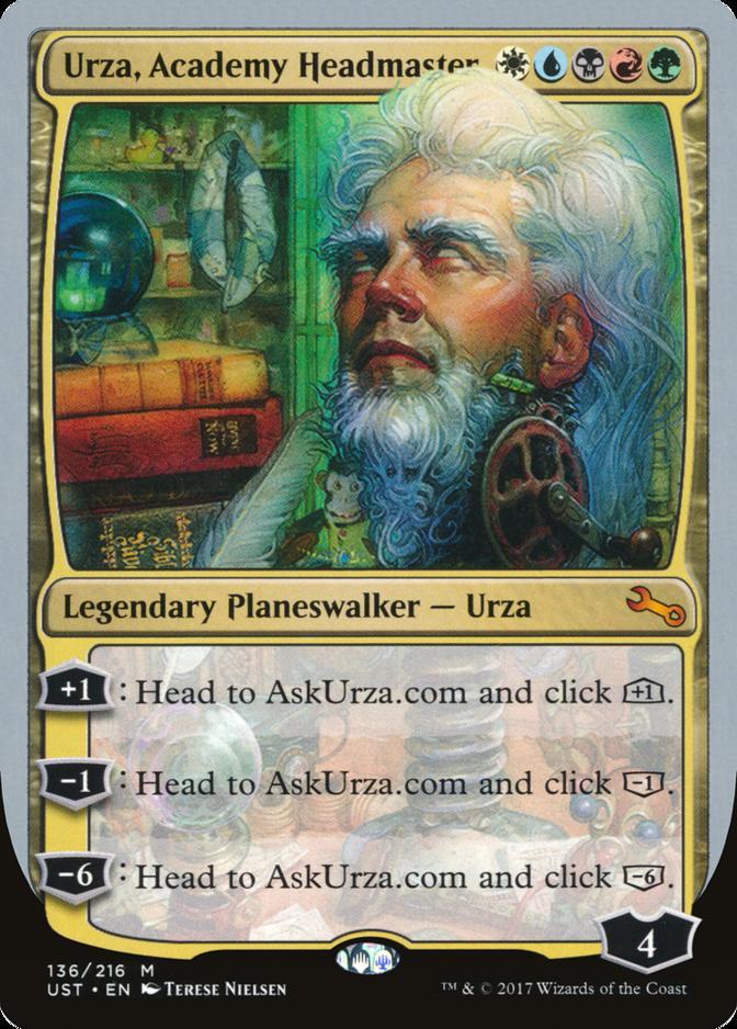 Urza, Academy Headmaster [UST]