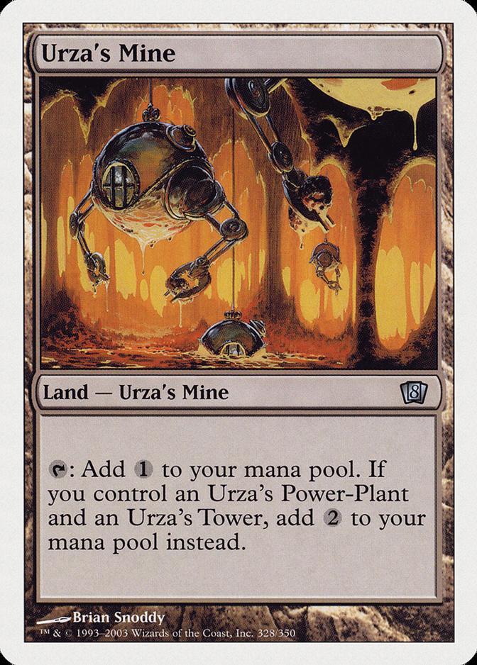 Urza's Mine [8ED] (F)