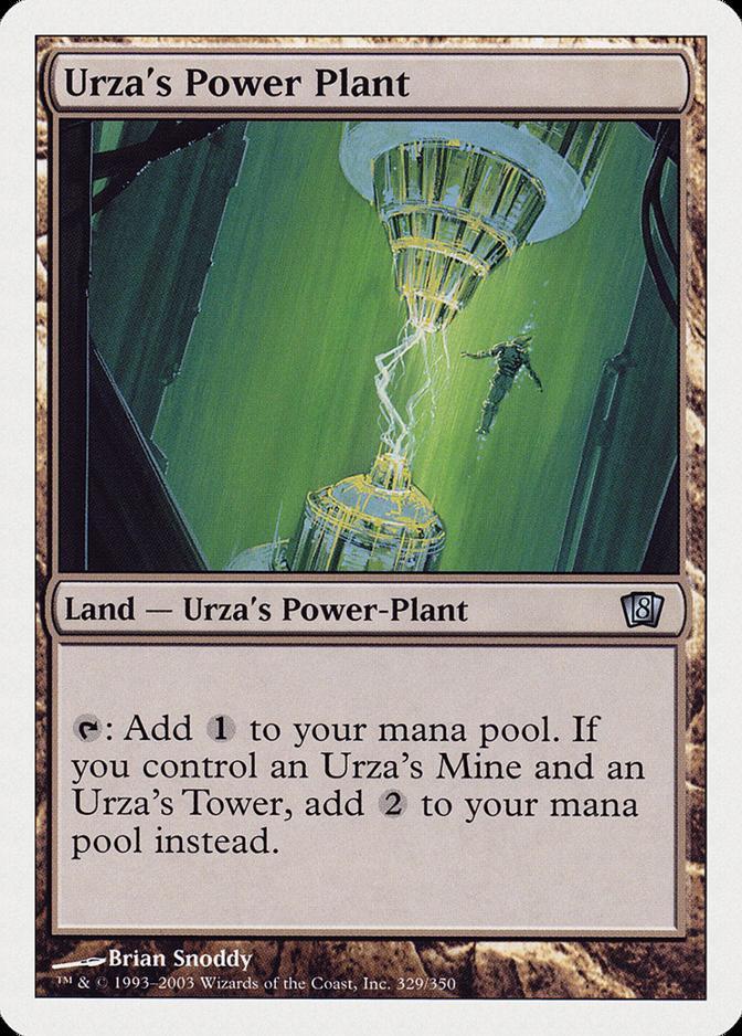 Urza's Power Plant [8ED]