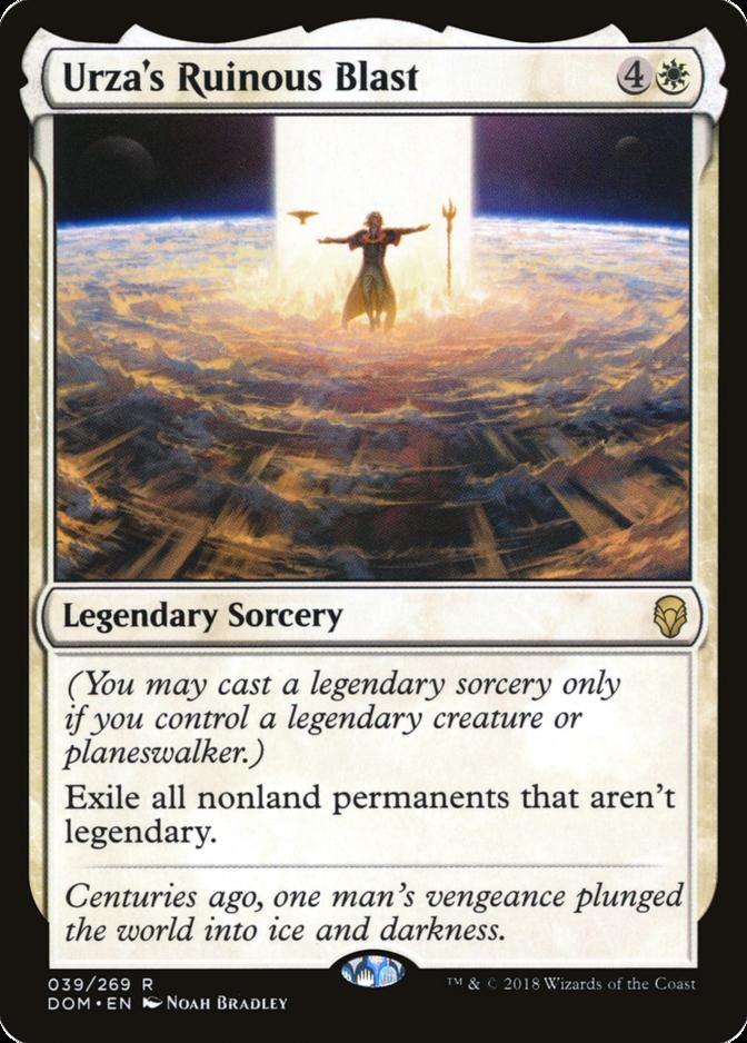 Urza's Ruinous Blast [DOM]