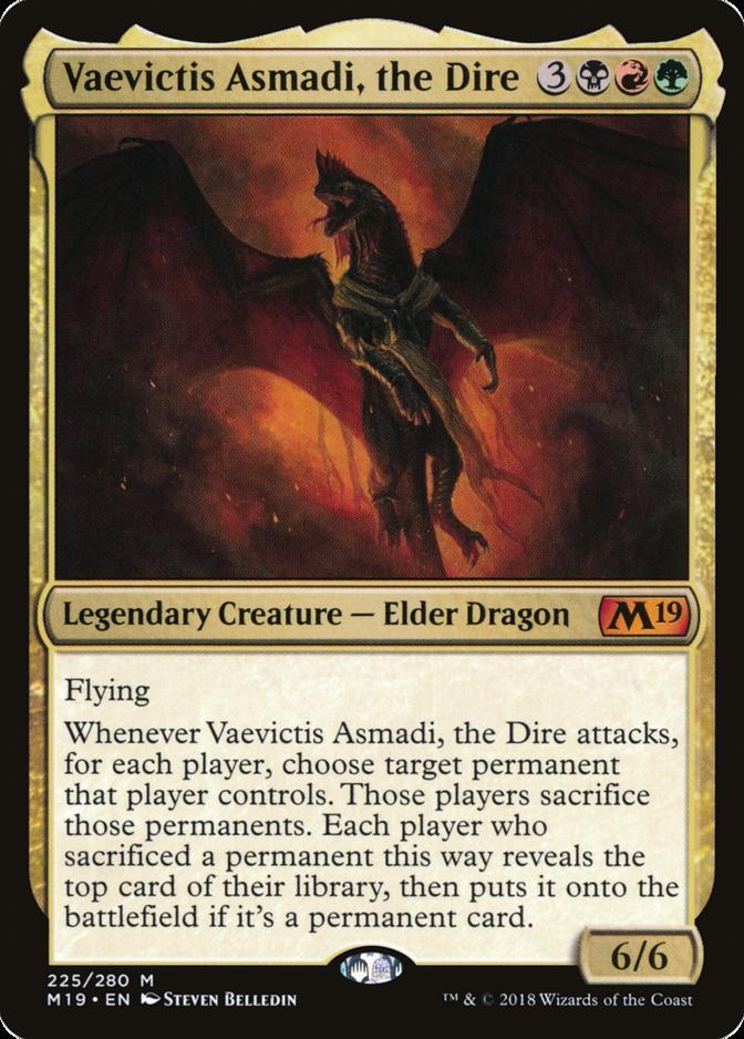 Vaevictis Asmadi, the Dire [M19]