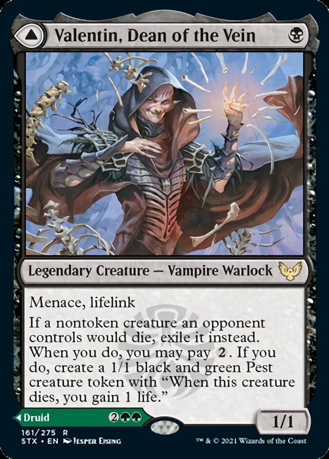 Valentin, Dean of the Vein [STX]