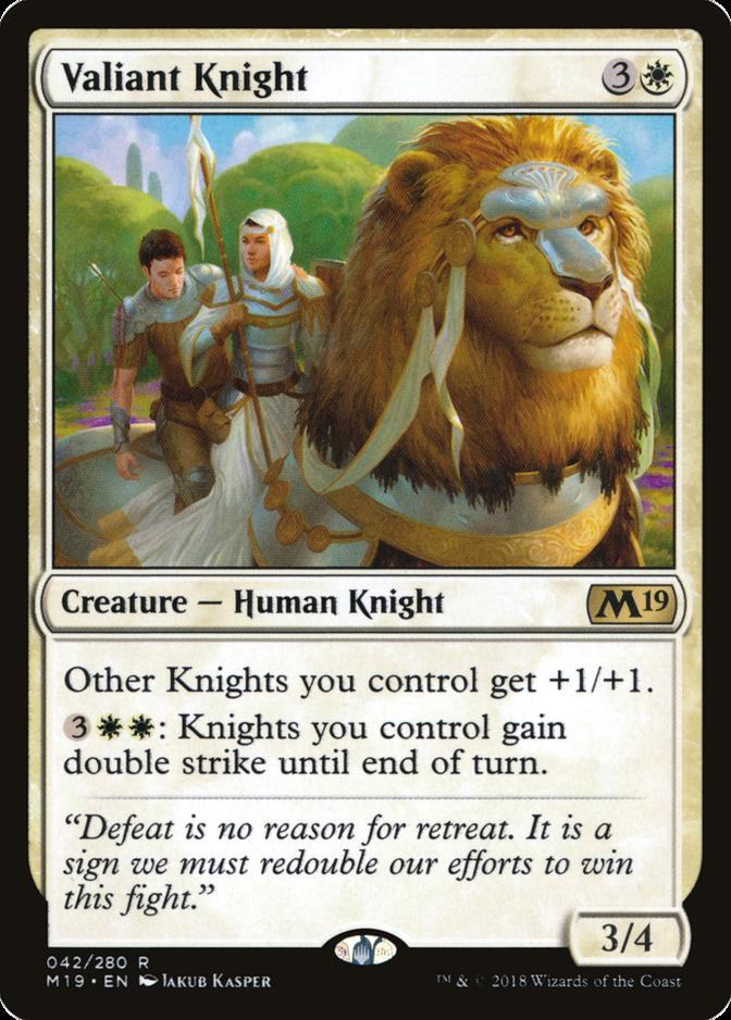 Valiant Knight [M19] (F)