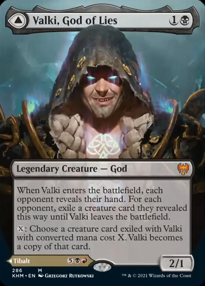 Valki, God of Lies <borderless> [KHM]