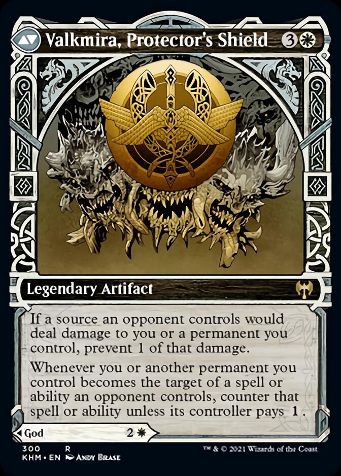 Valkmira, Protector's Shield <showcase> [KHM]