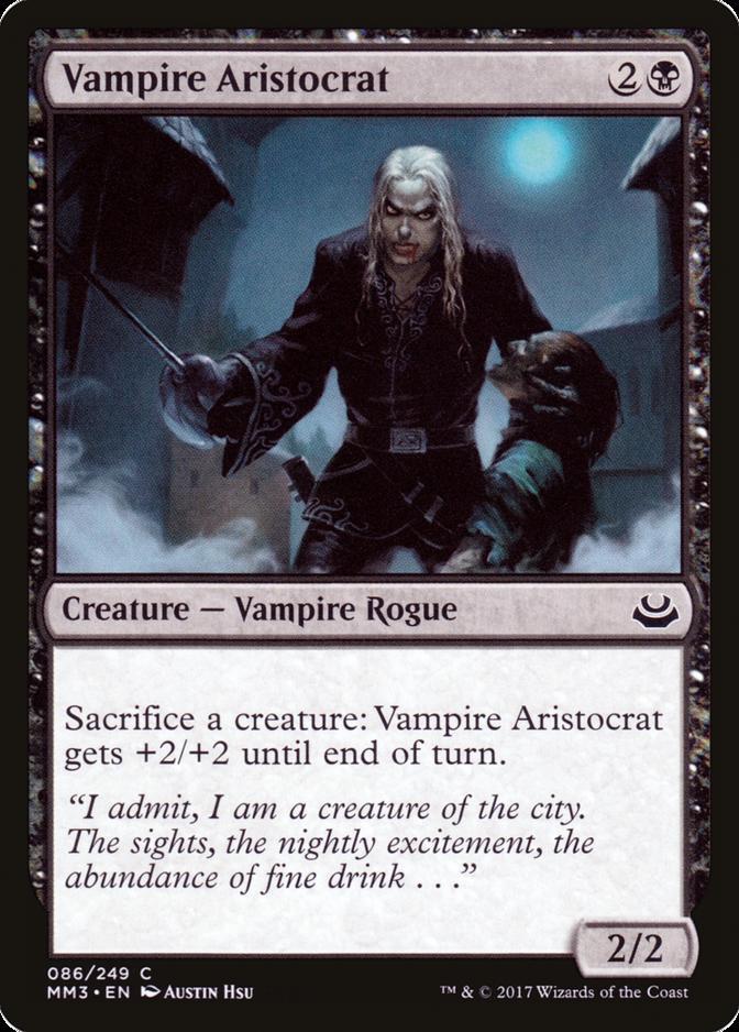 Vampire Aristocrat [MM3]