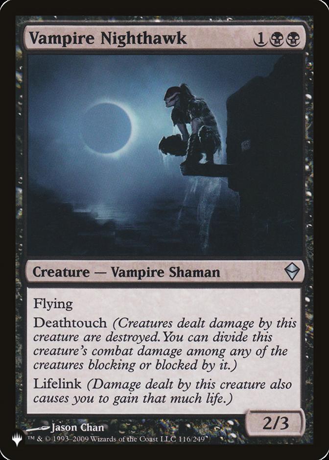 Vampire Nighthawk [PLIST]