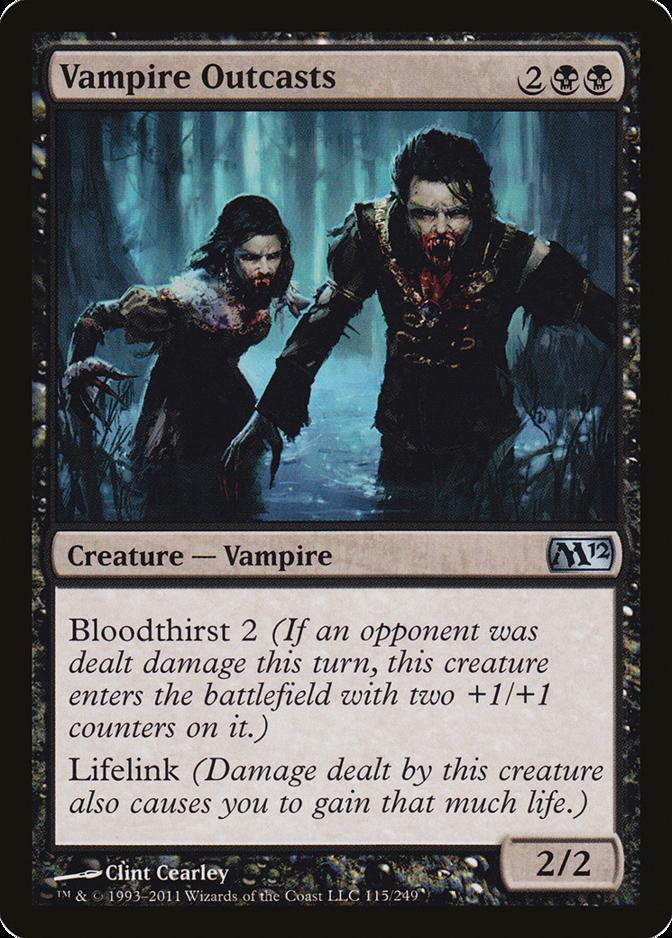 Vampire Outcasts [M12] (F)