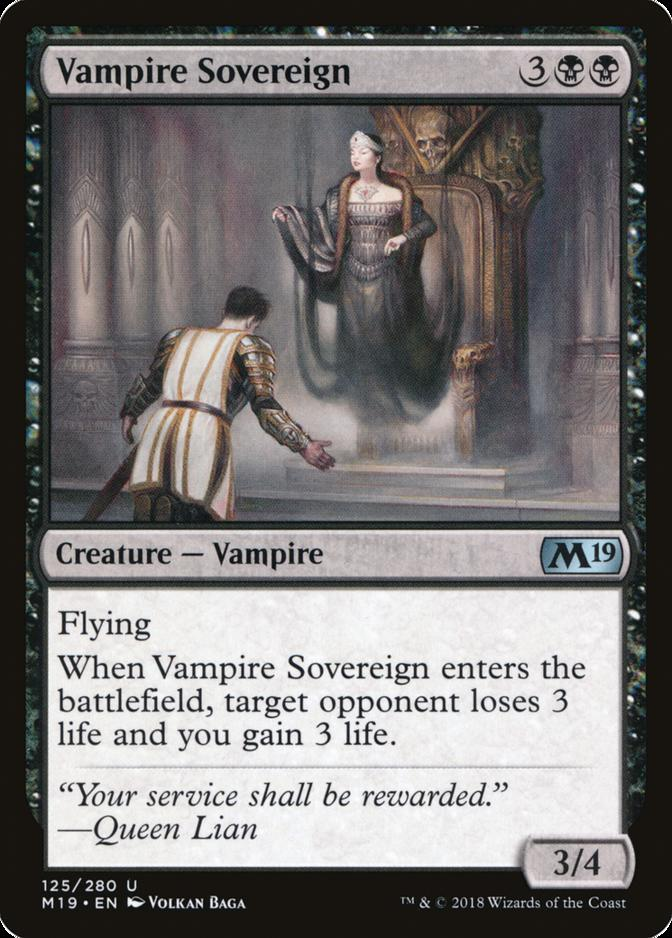 Vampire Sovereign [M19]