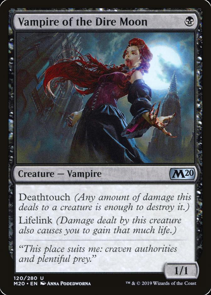 Vampire of the Dire Moon [M20]