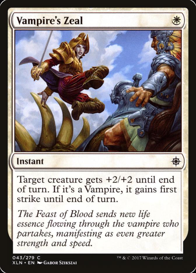 Vampire's Zeal [XLN]
