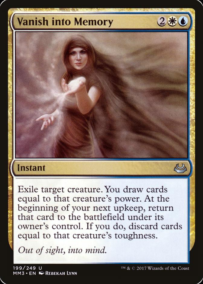 Vanish into Memory [MM3]