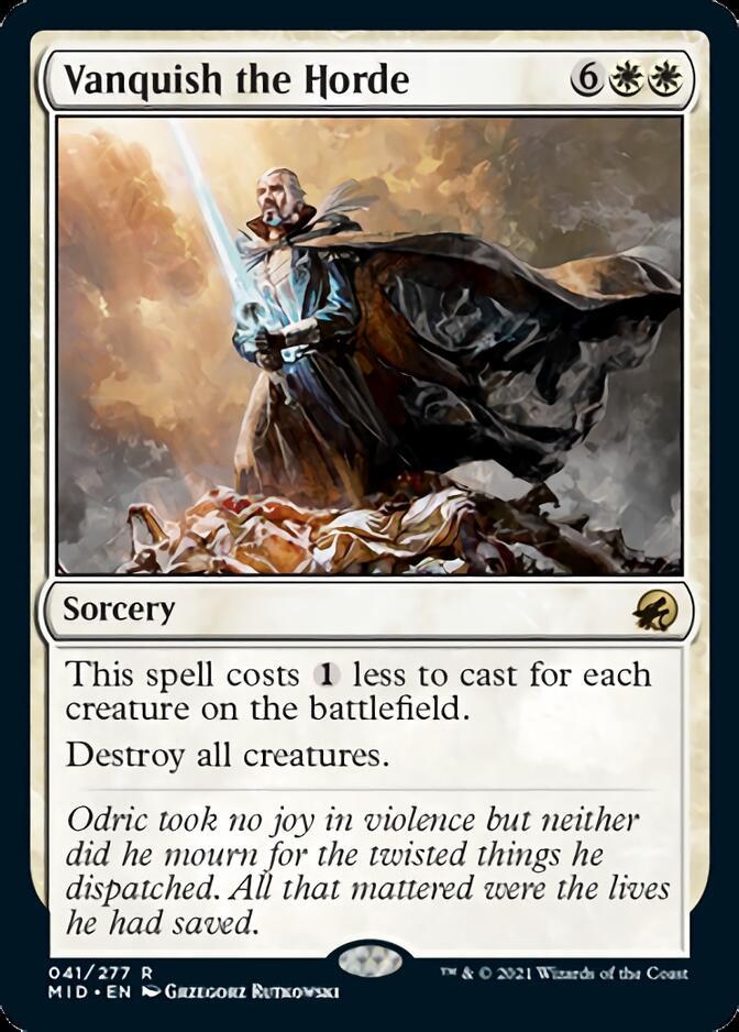 Vanquish the Horde [MID]