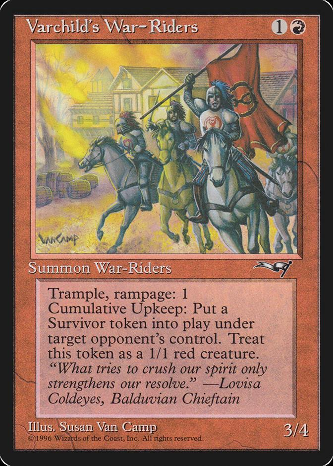 Varchild's War-Riders [ALL]