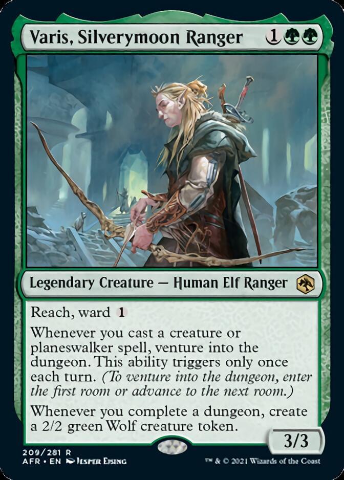 Varis, Silverymoon Ranger [AFR]